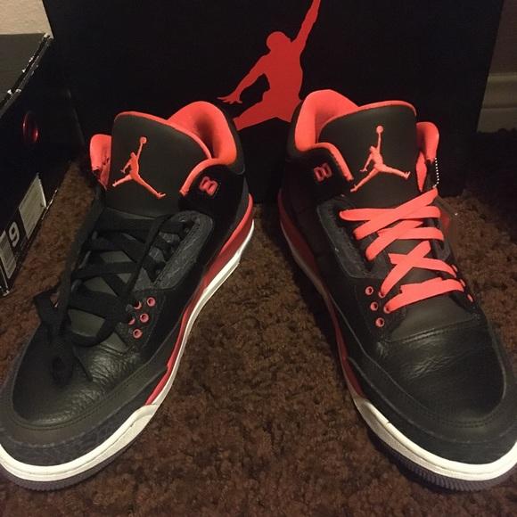 """Jordan Other - Jordan Retro 3's """"Crimson"""""""